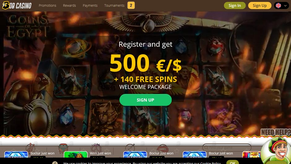 bob-casino-bonus Bob Casino Review 2019 – First Impression
