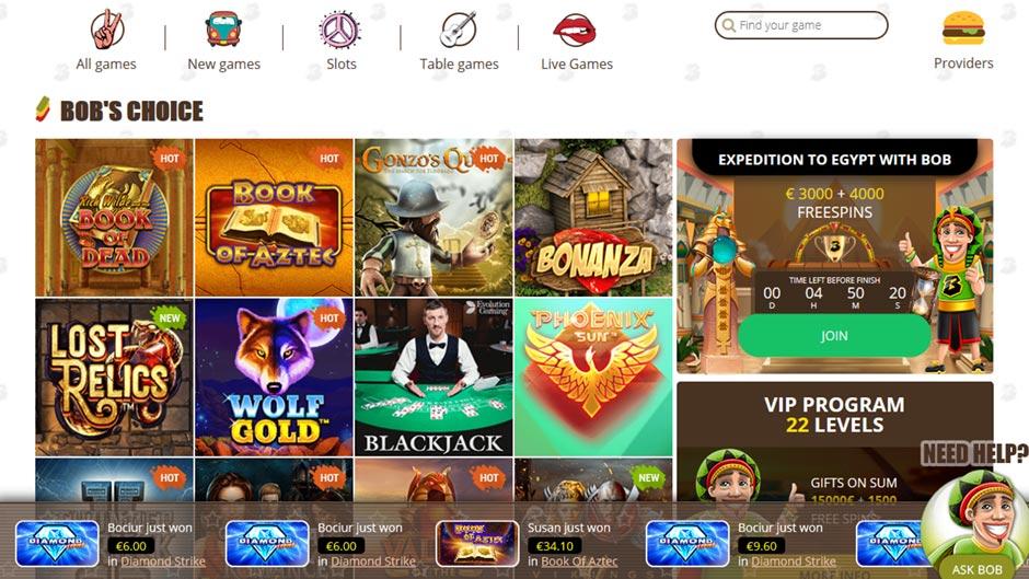 bob-casino-games