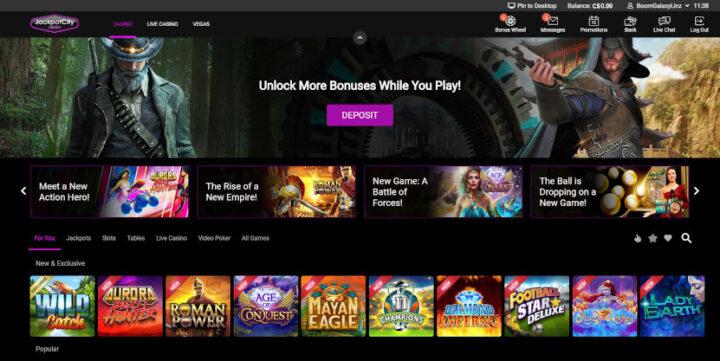 jackpotcity-casino-lobby
