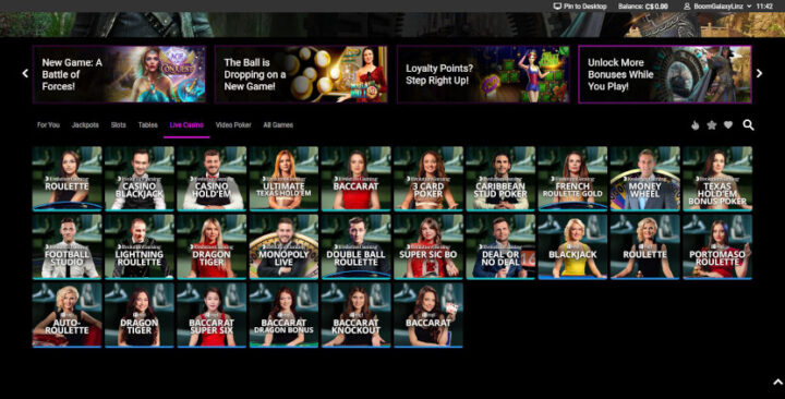 jackpotcity-live-casino-games