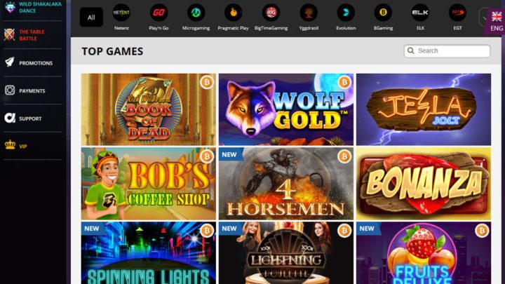 Playamo Casino Games & Software