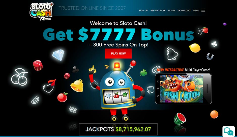 sloto-cash-casino Best USA Online Casinos - What you need to know about US Online Casino Brands