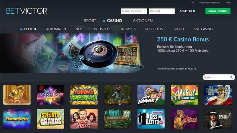 betvictor-casino Info zu Paypal, Visa, Sofortüberweisung, Giropay, Paysafecard