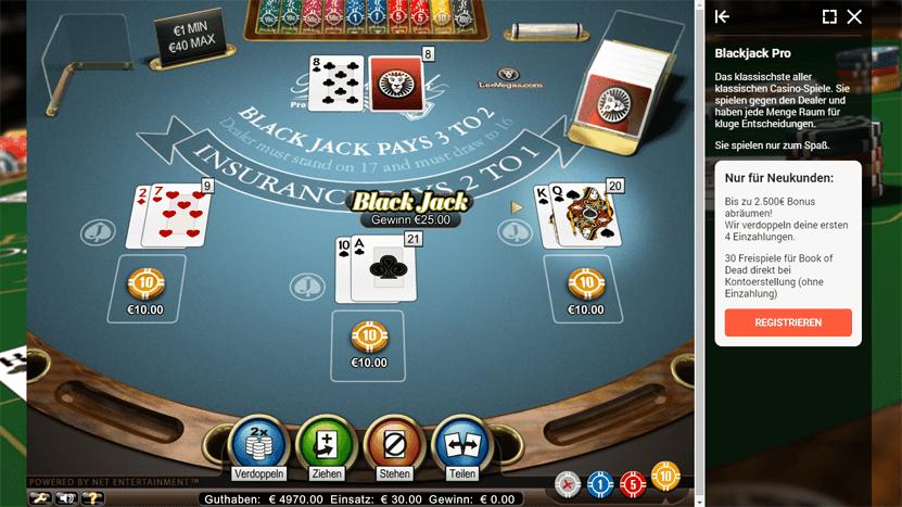 Die besten Casino Spiele bei Casino Euro