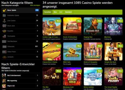 comeon-casino-spiele