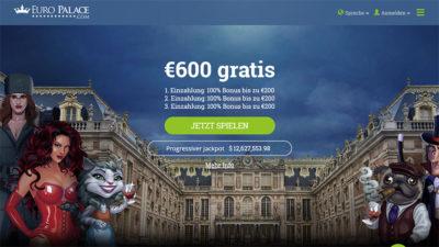 online casinos 2019: Euro Palace