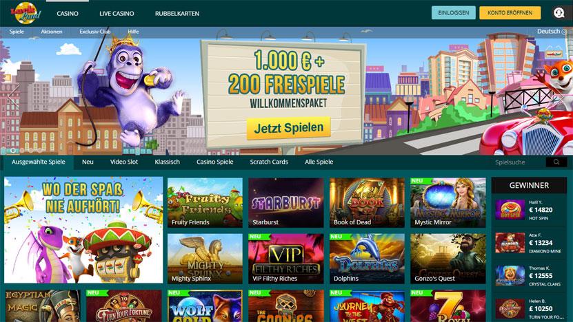 luck-land-casino-spiele