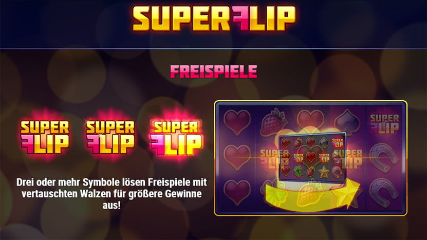 Super Flip - Spiele Spielautomat