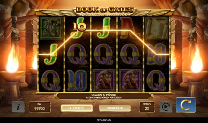 Book of Gates jetzt bei Wunderino spielen