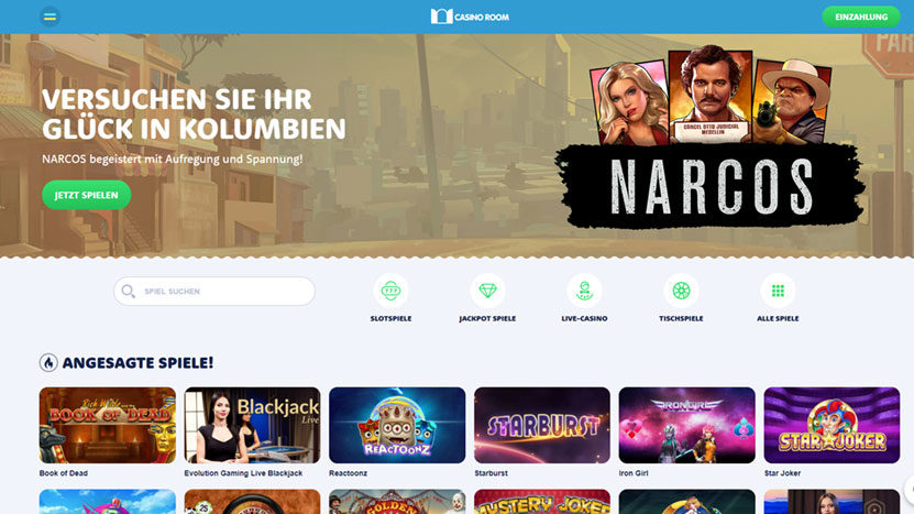 Hol dir 500 Euro Bonus im CasinoRoom! Top 10 Online Casinos.