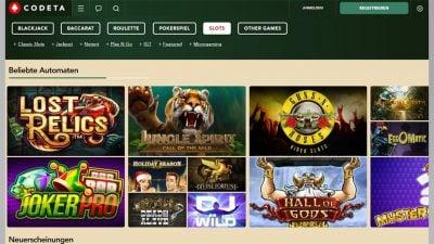 neue online casinos: codeta
