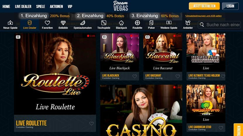 dream-vegas Was ist ein online Live Casino?