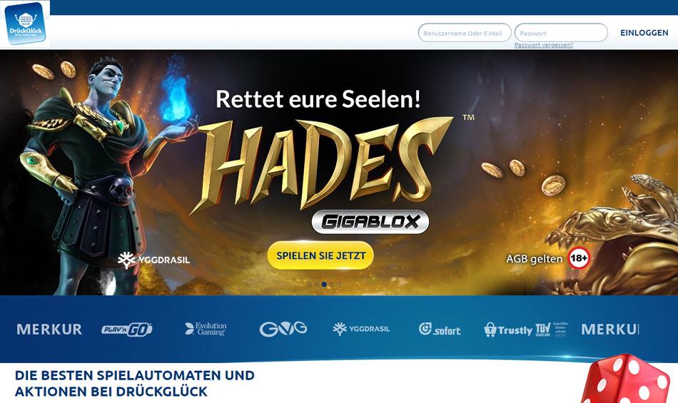 Drück-Glück-Online-Spiele