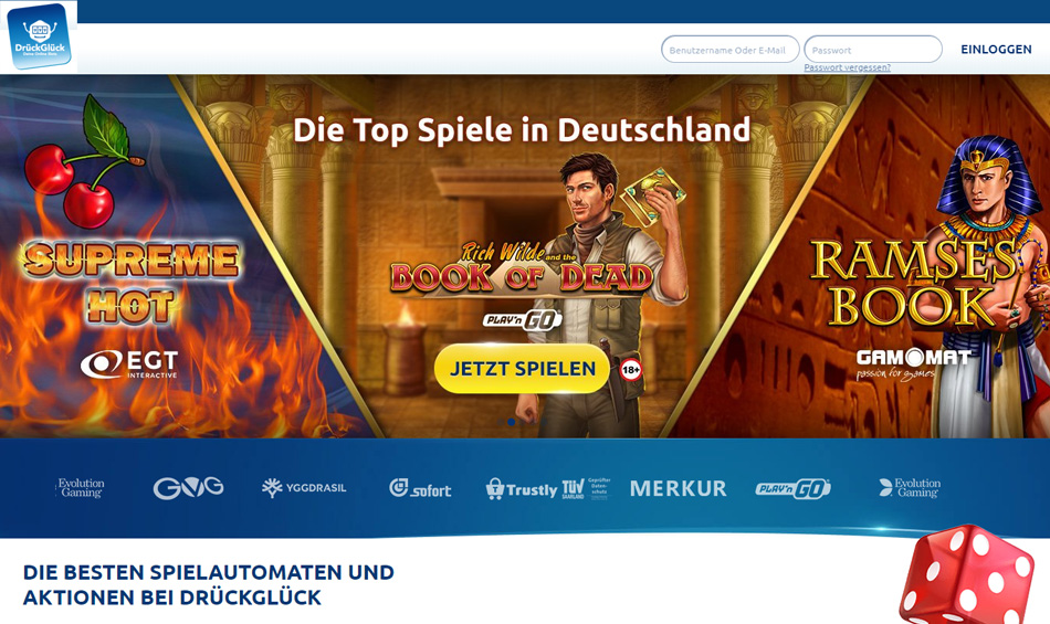 Drück-Glück-Online-Spielbank