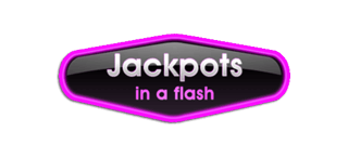 jackpots in a flash logo