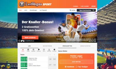 LeoVegas - Sport