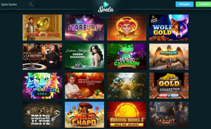 Entdecke über 1300 Spielautomaten bei Spela