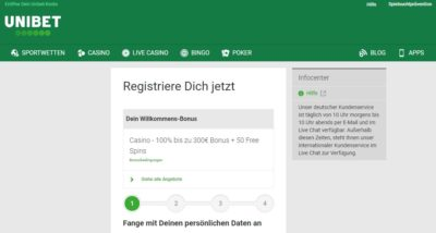 unibet-registrierung