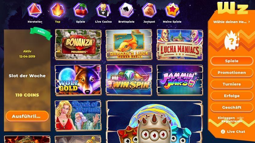 wazamba-casino-spiele