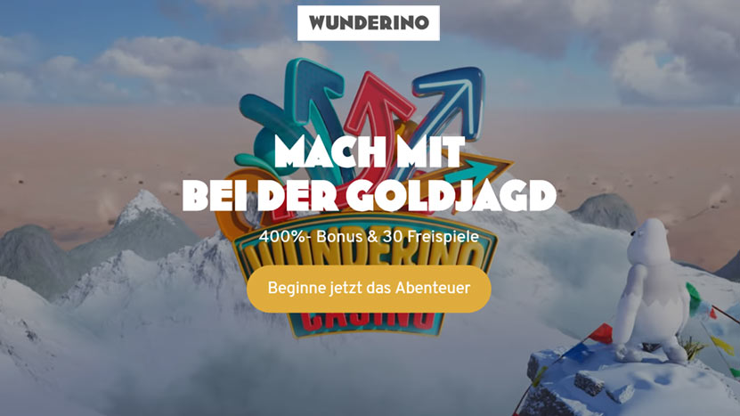 Wunderino - Mach mit bei der Goldjagd