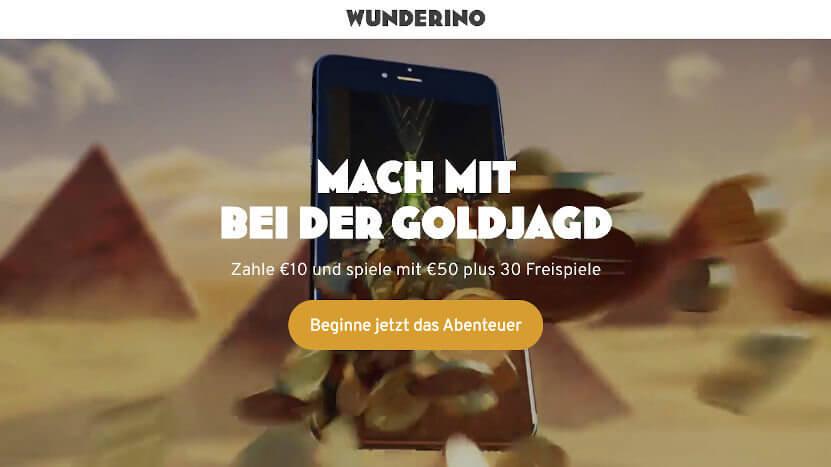 Welches ist das beste deutsche Online Casino? Wunderino!